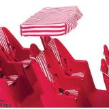 Bye-Bye Buggy® Canopy, Red Stripe