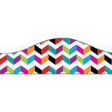 Big Magnetic Border, Multi Color Chevron