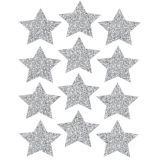 Die-Cut Magnets, 3 Gold Sparkle Stars