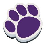 Magnetic Whiteboard Erasers, Purple Paw