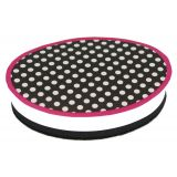 Magnetic Whiteboard Erasers, BW Dots