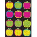 Die-Cut Magnets, Scribble Apples