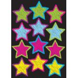 Die-Cut Magnets, Scribble Stars
