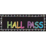 Laminated Hall Pass, Super City Restroom Pass