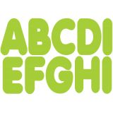 2-3/4 Magnetic Letters, Lime