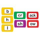 Word Chunking Foam Magnets