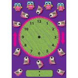 Magnetic Mini Bulletin Board Set, Telling Time