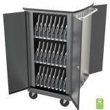 iTeach® High Capacity Sync & Charge Cart, 48 capacity, 40 1/4H x 20 1/4W x 27D