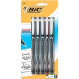 BIC® Intensity® Marker Pens, Assorted, Pack of 5