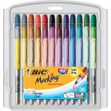BIC Mark•It™ Permanent Markers, 36 count, Fine Point