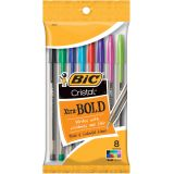 BIC® Cristal® Xtra Bold, Pack of 8