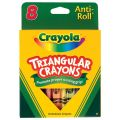 Crayola® Triangular Anti-Roll Crayons, 16 count