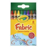 Crayola® Fabric Crayons, 8 colors