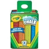 Crayola® Washable Sidewalk Chalk, 12 colors