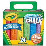 Crayola® Washable Sidewalk Chalk, 24 colors