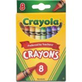 Crayola® Regular-Size Crayons, 8 colors