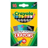 Crayola® Construction Paper Crayons, 16 count