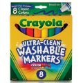 Crayola® Washable Broad-Line Markers, Classic Colors