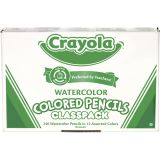 Crayola® Watercolor Colored Pencils Classpack®, 240 pencils, 12 colors