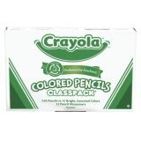 Crayola® Colored Pencil Classpack®, 240 pencils, 12 colors