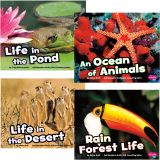 Habitats Around the World Book Set, Set of 4