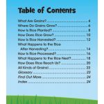 From Farm to Fork: Where Does My Food Come From?, Set of 4 books