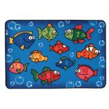 KID$ Value Rugs™, Something Fishy, 4' x 6'