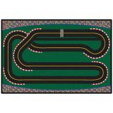 KID$ Value Rugs™, Super Speedway Racetrack Rug, 3' x 4'6
