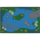 KID$ Value Line PLUS™ Rug, Tranquil Pond Rug, 8' x 12'