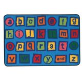 KID$ Value Rugs™, Alphabet Blocks Rug, 4' x 6'