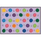 KID$ Value Rugs™, Toddler Dots, 4' x 6'