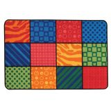 KID$ Value Rugs™, Patterns at Play, 4' x 6'
