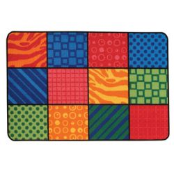 KID$ Value Rugs™, Patterns at Play, 3' x 4'6