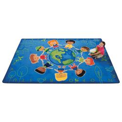 Give the Planet a Hug™ Rug, 8' x 12'
