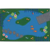 Kid$ Value Rugs™, Tranquil Pond, 4' x 6'