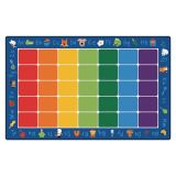 Fun with Phonics Carpet, 7'6 x 12' Rectangle