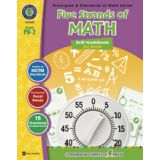 Principles & Standards of Math Drill Sheets, Five Strands of Math Big Book, Grades PreK-2