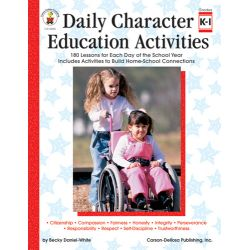 Daily Character Education Activities, Grades 2-3