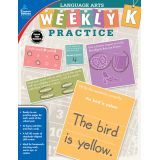 Language Arts Weekly Practice, Grade K