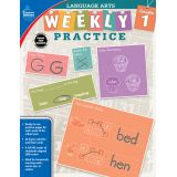 Language Arts Weekly Practice, Grade 1