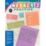 Language Arts Weekly Practice, Grade 2