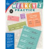 Language Arts Weekly Practice, Grade 3