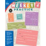 Language Arts Weekly Practice, Grade 4