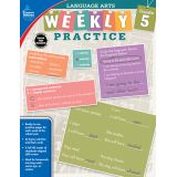Language Arts Weekly Practice, Grade 5