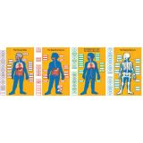 Human Body Bulletin Board Set