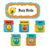 Boho Birds & Birdhouses Pop-Its® Bulletin Board Set