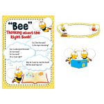 Buzz-Worthy Bees Reading Bulletin Board Set