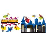 Super Power! Super Kids Bulletin Board Set