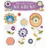 When We Learn, We Grow! Mini Bulletin Board Set