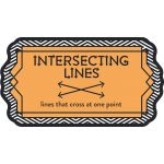 Points, Lines & Angles Mini Bulletin Board Set